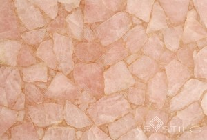 Pink Rose Quartz Stone Slab