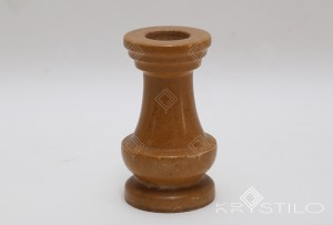 Alma marble candle stand
