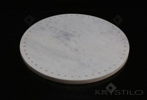 Giro Dotted Marble Platter